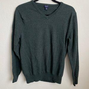 J. Crew Vneck Merino Wool Pull Over Sweater